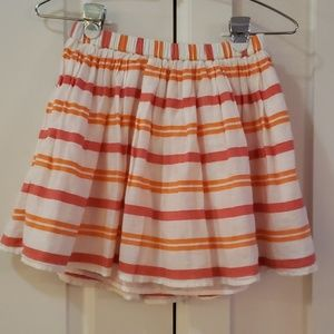 Gap Girls Striped Skirt